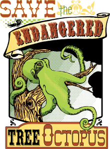 Save the endangered tree octopus!